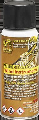 britetone 2oz aerosol single BRITETone Wind Instruments – 2 fl. oz.