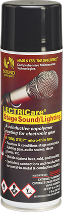 lc stagesound 7oz aerosol single LECTRICare Stage Sound and Lighting – 7 fl. oz.
