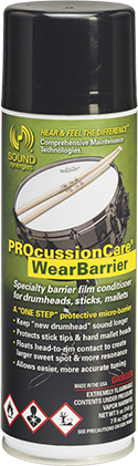 PROcussionCare® CymbalCare Cymbal Cleaner & Metal Conditioner keeps your cymbals and gongs protected, looking fresh, and at optimal performance.