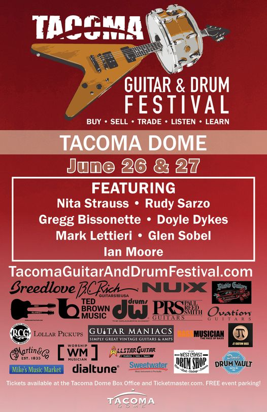 2021 Tacoma Guitar & Drum Festival
